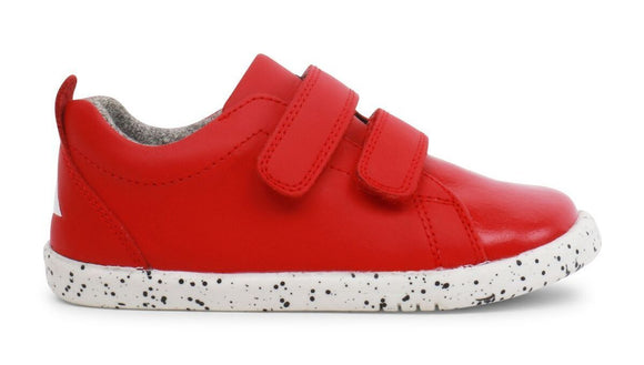 Bobux IW Grass Court Trainer Red