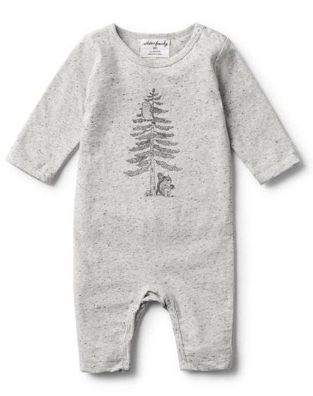 Hello Forest Long Sleeve Growsuit