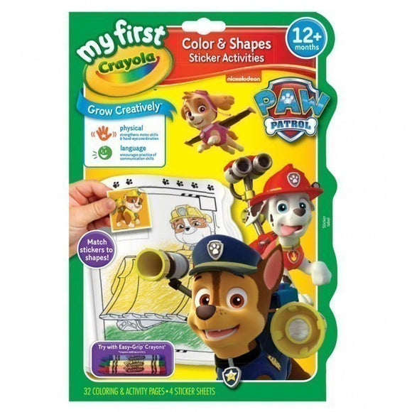 Crayola Paw Patrol Colour and Activity Book