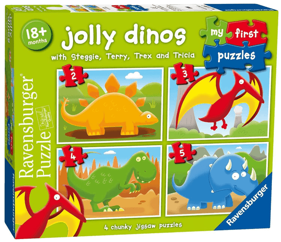 Ravensburger Jolly Dinos Puzzle