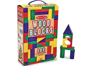 Melissa and Doug Wood Blocks (100)