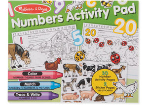 Melissa and Doug - Numbers Activity Pad
