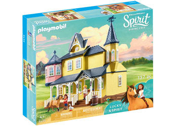 Playmobil Spirit - Lucky's Happy Home
