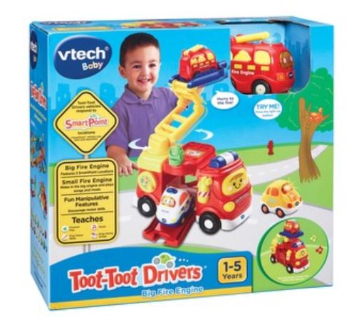 VTech Toot Toot Drivers Big Red Fire Engine