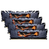 32GB (8GBx4) G.SKILL Ripjaws 4 PC Desktop Memory DDR4 PC4-22400 2800MHz CL16 BLK Kit