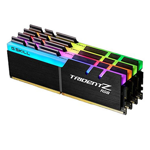32GB (8GBx4) G.SKILL Trident Z RGB PC Desktop Memory DDR4 PC4-19200 2400MHz