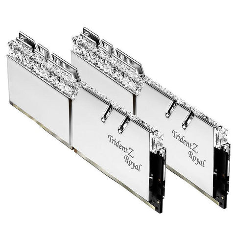 32GB (16GBx2) G.Skill Trident Z Royal DDR4 PC Desktop Memory  PC24000 3000MHz CL16 KIT