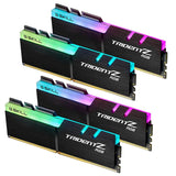 32GB (8GBx4) G.Skill Trident Z RGB DDR4 PC Desktop Memory PC29800 3733MHz CL17 KIT