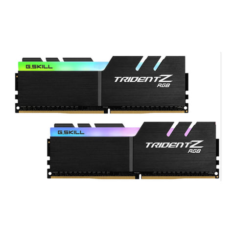 16GB (8GBx2) G.SKILL Trident Z RGB PC Desktop Memory DDR4 PC4-24000 3000MHz