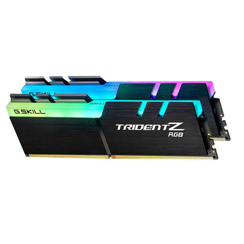32GB (16GBx2) G.SKILL Trident Z RGB PC Desktop Memory DDR4 PC4-30900 3866MHz