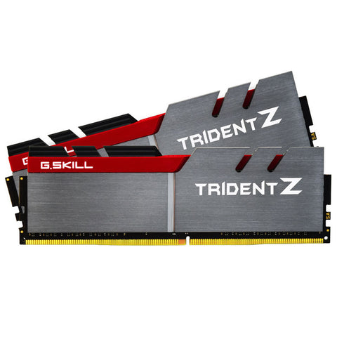 8GB (4GBx2) G.SKILL Trident Z PC Desktop Memory DDR4 PC4 30900 3866MHz C18 Kit
