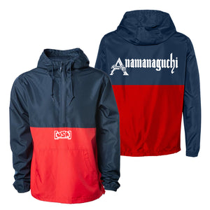 Anamanaguchi - [USA] Windbreaker (Blue/Red)
