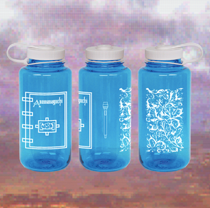 Anamanaguchi - Naglene Water Bottle (Blue)