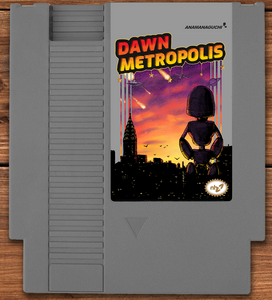 Dawn Metropolis NES Cartridge