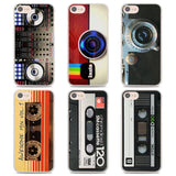 Camera & Tapes Pattern iPhone Cases