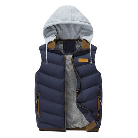 Thick Hoodie Vest