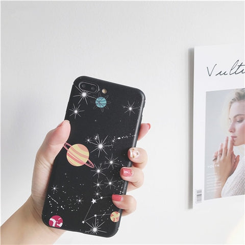 Space Planet iPhone Case