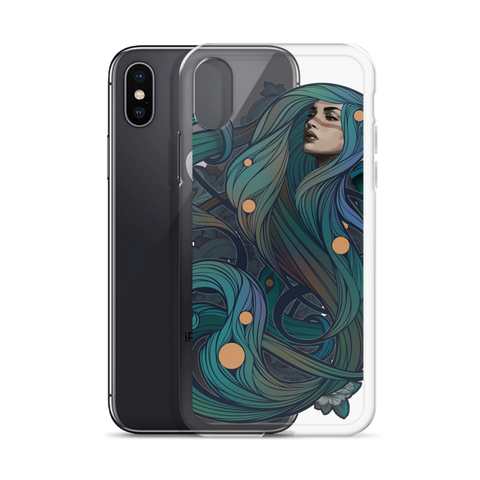 Queen of Snakes iPhone Case
