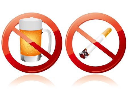 Stop Smoking and Drinking