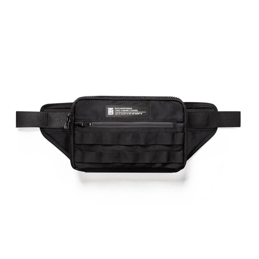 Born Tough Molle Utility Cross Body Bag Black