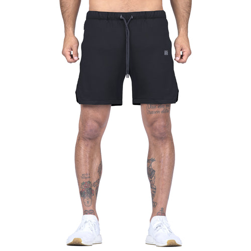 Born Tough Men Air Pro Liner Shorts Ink Black