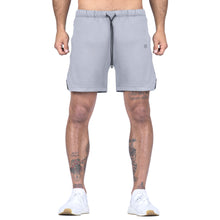 Born Tough Men Air Pro Liner Shorts Steel Gray