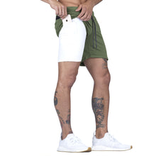 Born Tough Men Air Pro Liner Shorts Military Green
