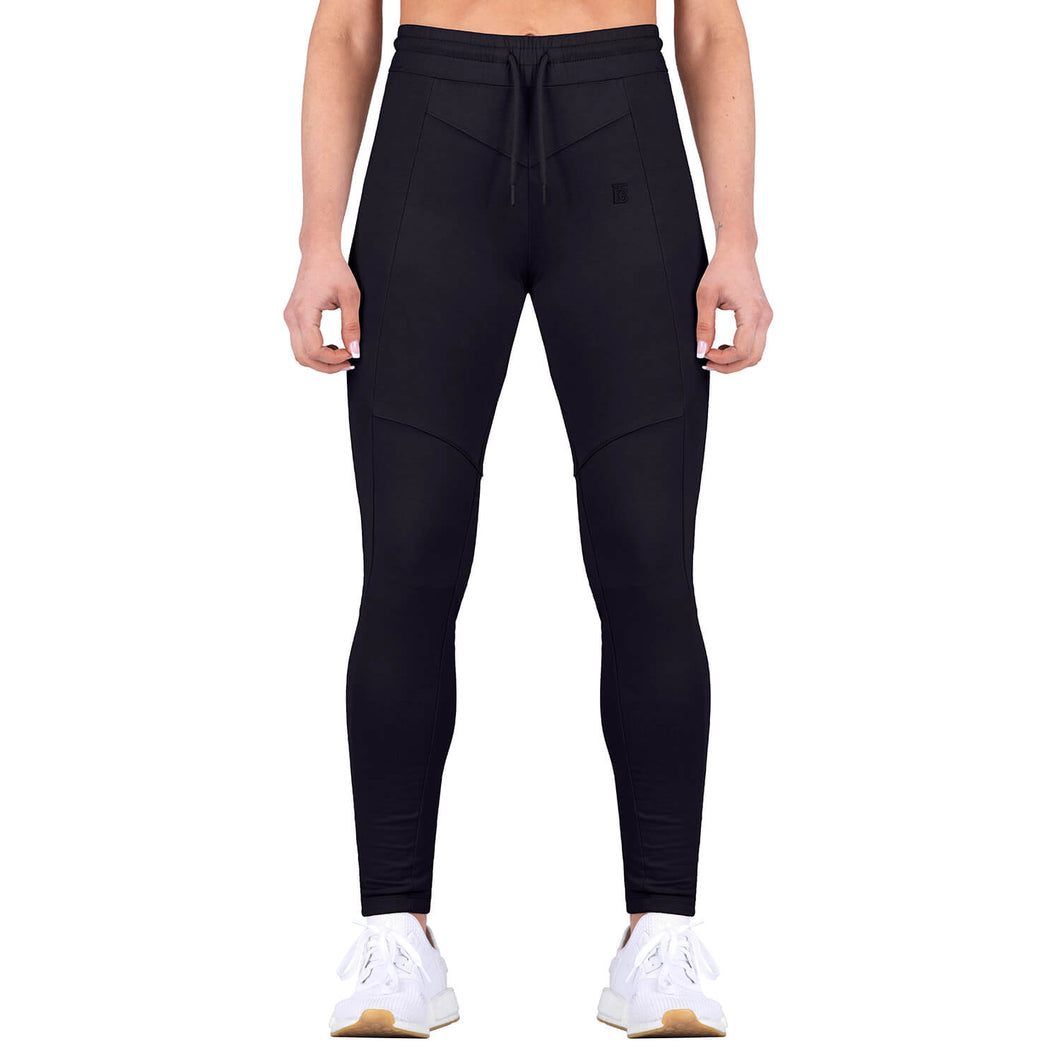 Born Tough Women Contoured Tracksuit Bottom Black