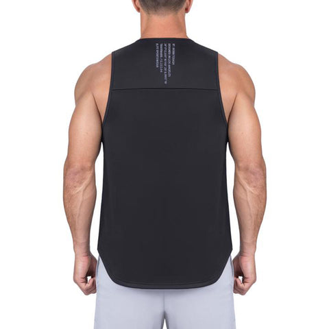 Born Tough Men Air Pro Fitted Tank Black