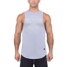 Born Tough Men Air Pro Fitted Tank Steel Gray