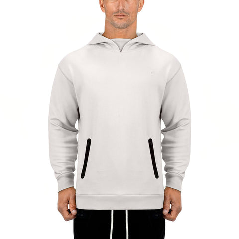 Born Tough Men Core LS Hoodie Stone