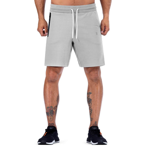 Born Tough Men Core Fit Shorts Metal Gray