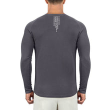 Born Tough Men Core Fit LS Shirt Gray