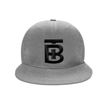 Born Tough Snapback Cap/Hat Gray