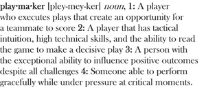 Playmakerjournal