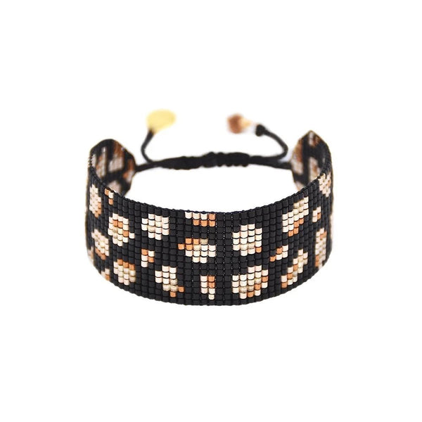 Mishky Panthera Wide Black Bracelet