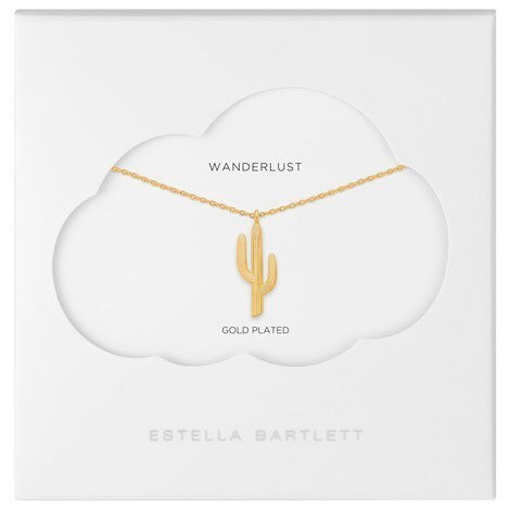 Estella Bartlett Cactus Necklace