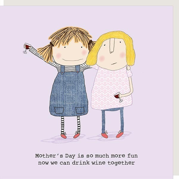 Rosie Made a Thing 'Wine Together' Card
