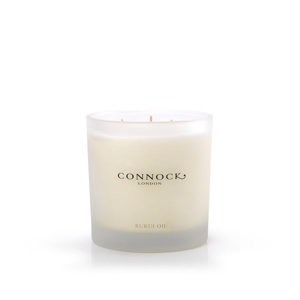 Connock London Kukui 3-Wick Candle