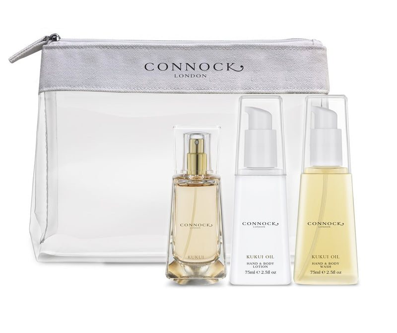 Connock London Kukui Travel Collection