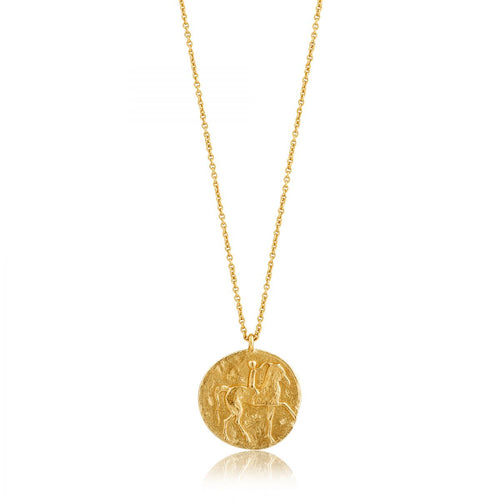 Ania Haie Coins Roman Medallion Necklace Gold