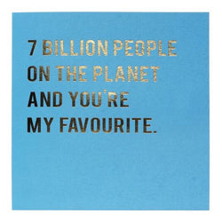Redback Cards - 7 Billion