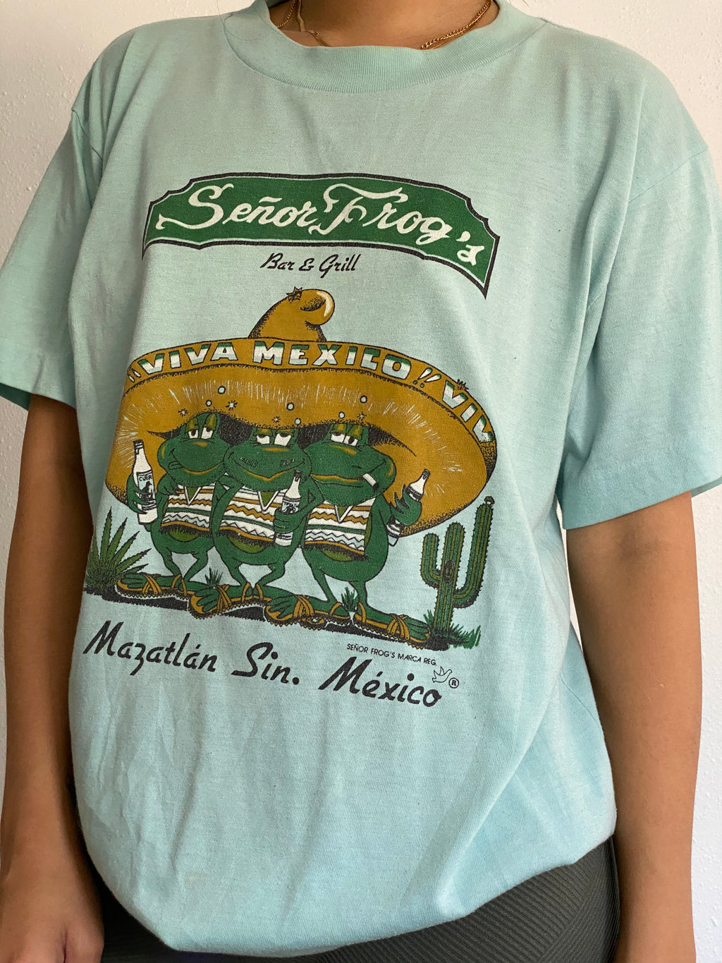 Vintage Mexico Senior Frogs Tee