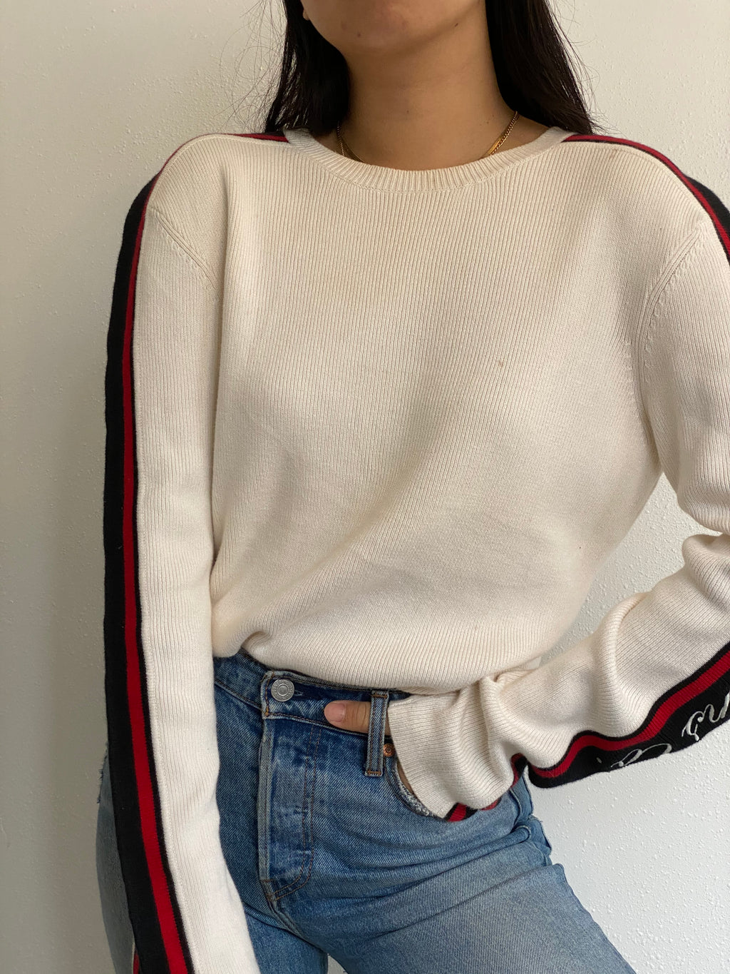 Vintage Polo Jeans Knit Pullover