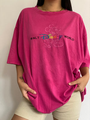 Vintage Embroidered Disney World Tee