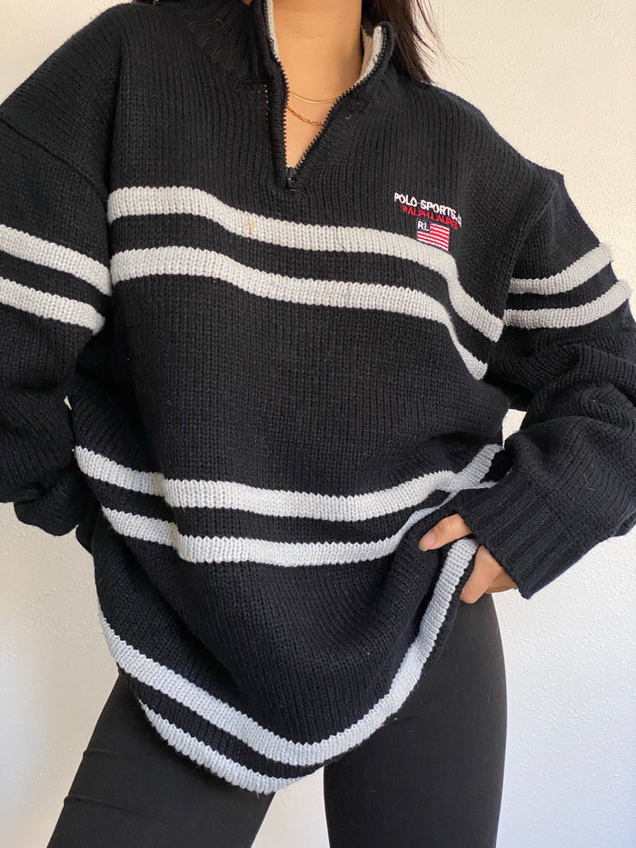 Vintage Ralph Lauren Half Zip Sweater