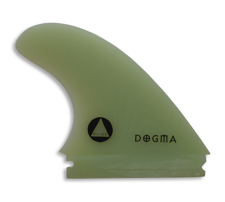 The Dogma – G10 Big Wave Tow Fins - Thruster, available in one or two tab base.