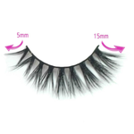 Milanté BEAUTY Seductive Real Mink False Lashes Black Natural Thick Long Full Reusable Fake Strip Eyelashes