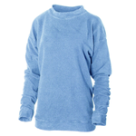 Men's Fashion-Fit Vintage Pilled Herrington Crew Neck Fleece Sweatshirt