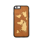 iPhone Case - World Map